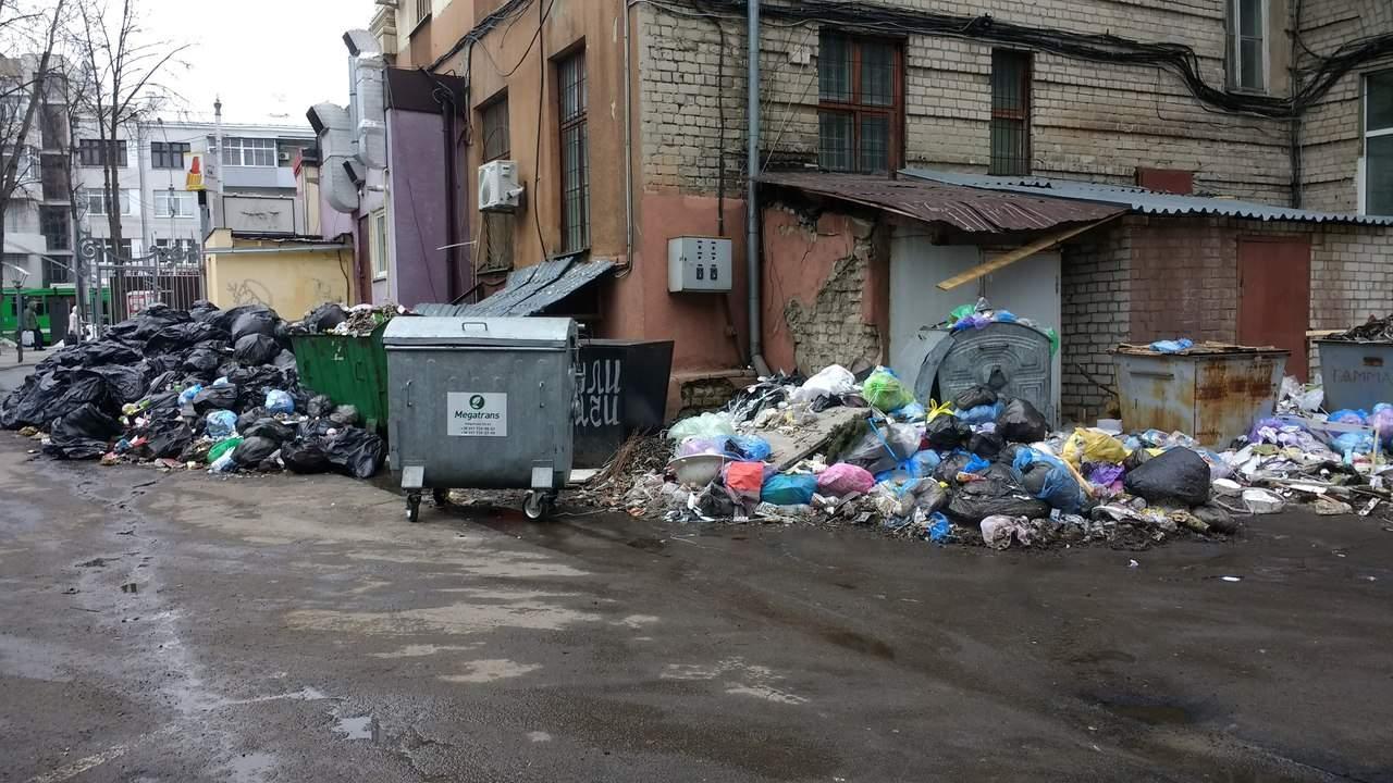 В одном из жилых районов Харькова несколько месяцев не вывозят мусор