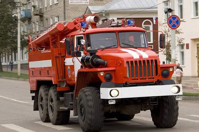 В Москве возник пожар в торговом центре (Видео)