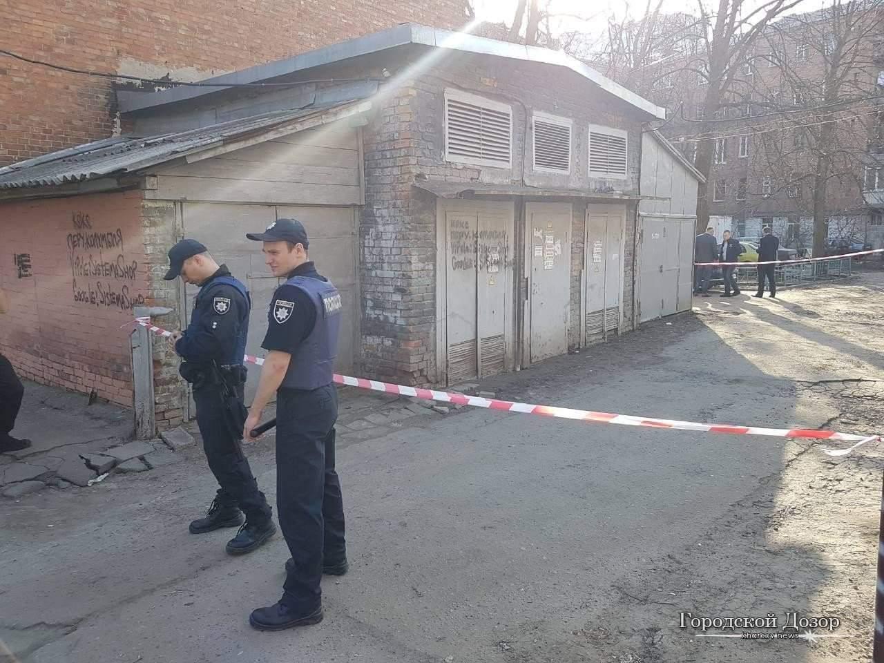 В Харькове  произошла перестрелка, два человека ранены