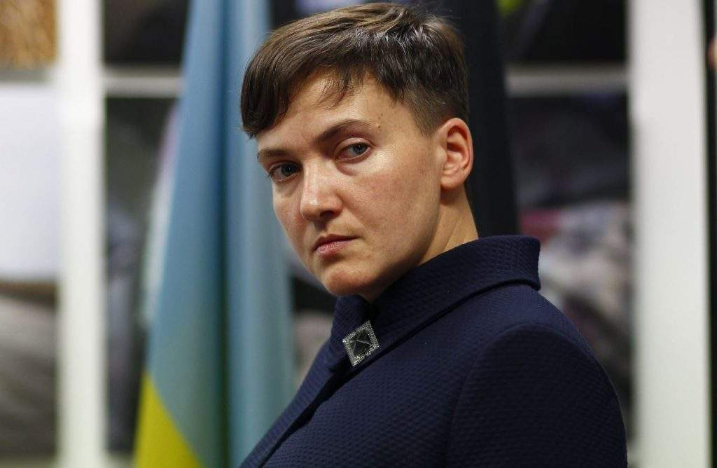 Около часа ведется допрос Савченко на полиграфе