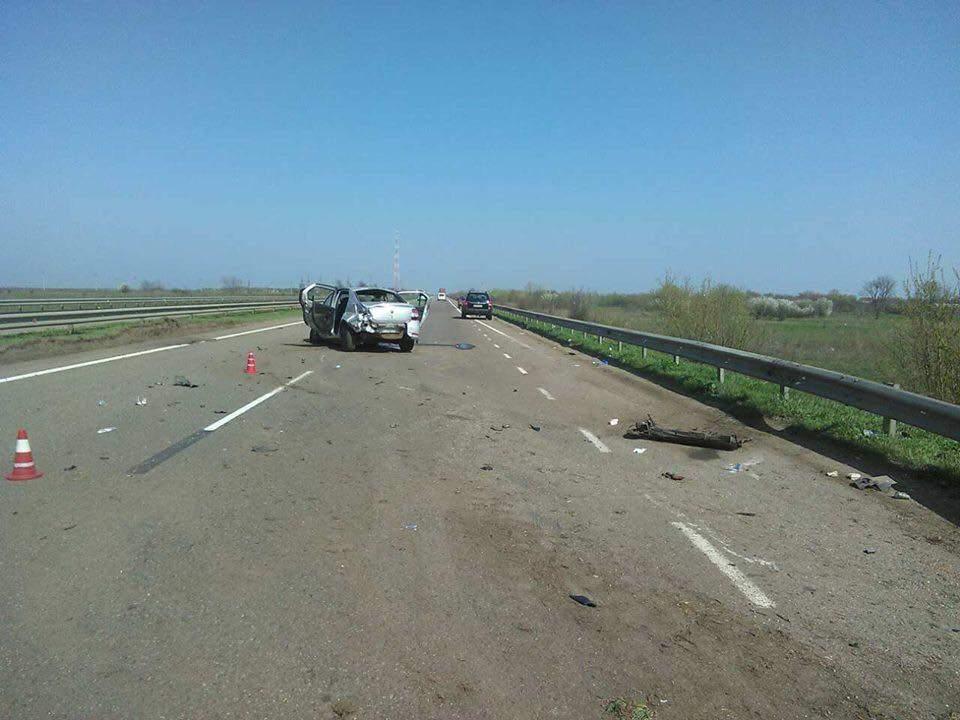 В ДТП на трассе Киев - Одесса погиб ребенок (Фото)