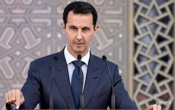 Башар Асад попал в базу сайта Миротворец