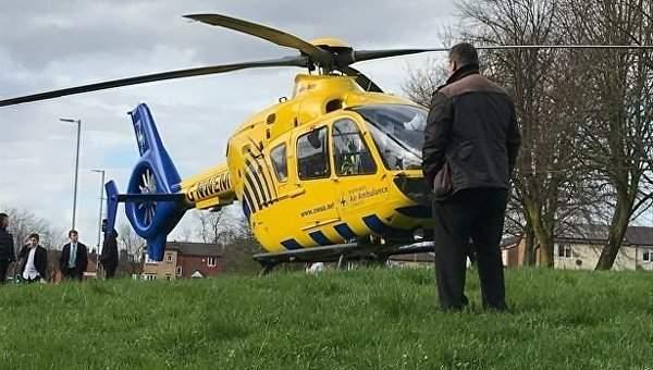 В Манчестере автомобиль наехал на людей,  шесть человек пострадали