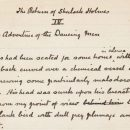 Рукопись Конан Дойла ушла из-под молотка за внушительную сумму