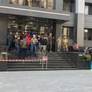 В Харькове  вход в администрацию одного из районов  заблокирован группой активистов