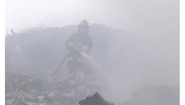 В Украине  вспыхнули пожары на свалках в трех областях