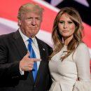 Макрон получит серебряную чашу производства Tiffany&Co с подписями Дональда и Меланьи Трамп