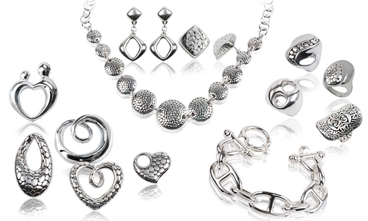 Элегантные и стильные украшения из серебра
