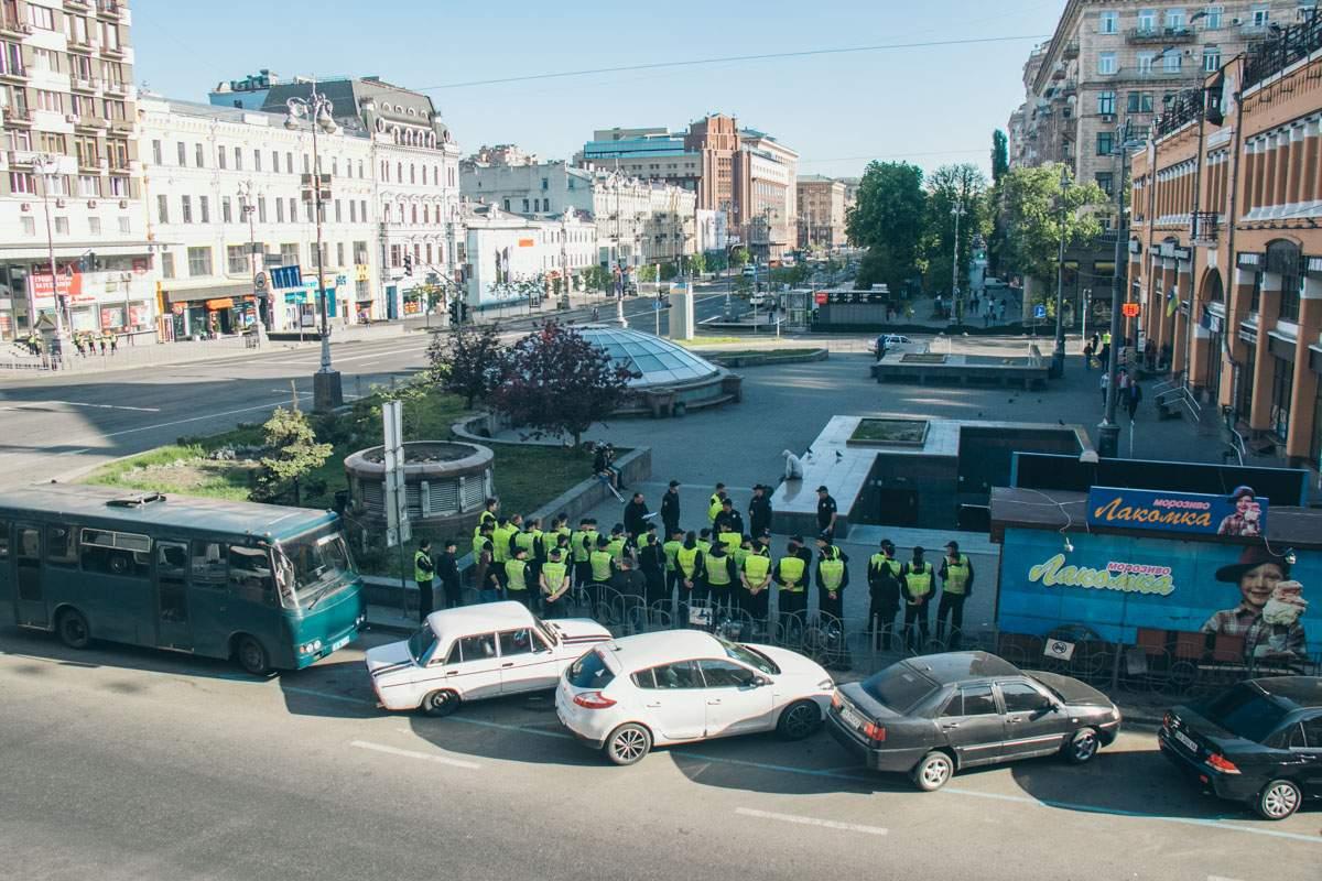 В центре Киева на 10:00 запланирован Марш трудящихся