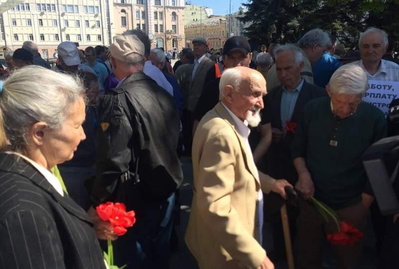 Митинг в Харькове: «Власть, прекрати реабилитировать нацистов»