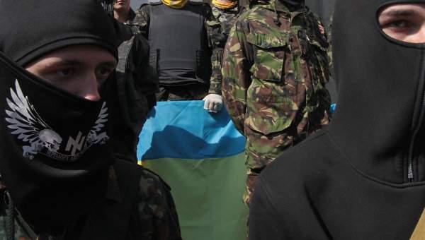 Жителей Днепра возмутило прославление радикалами из С14 дивизии СС
