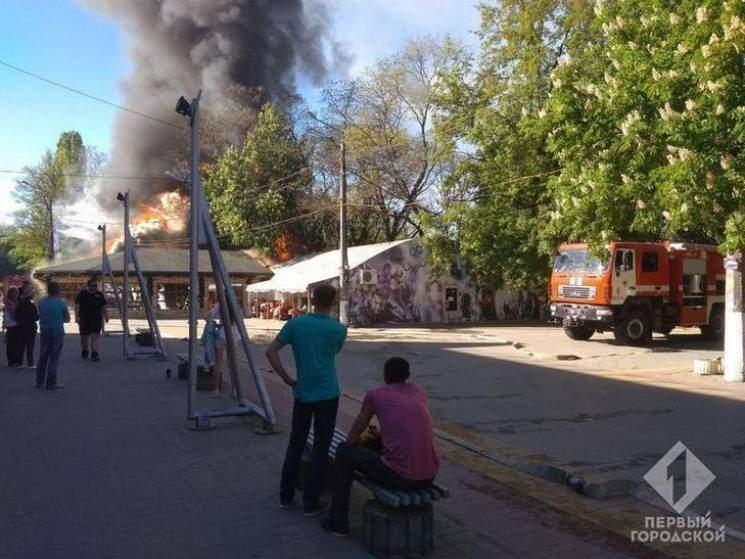 В центре Одессы в кафе