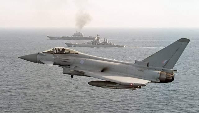 Британские истребители будут патрулировать воздушное пространство над Черным морем