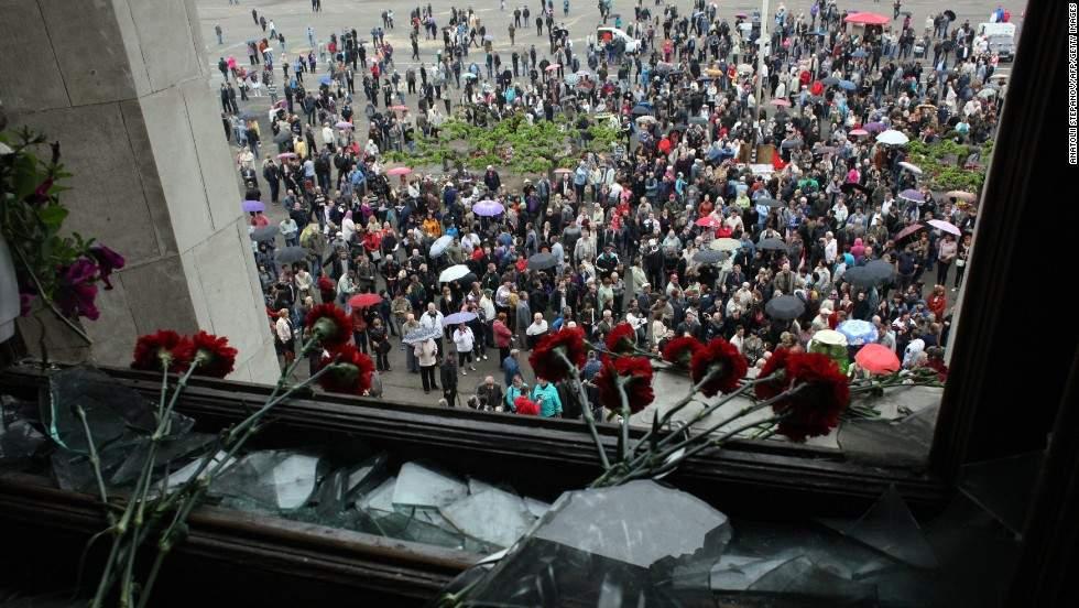 В Одессе более 2 тыс. правоохранителей дежурят в связи с 4-й годовщиной трагедии в Доме профсоюзов