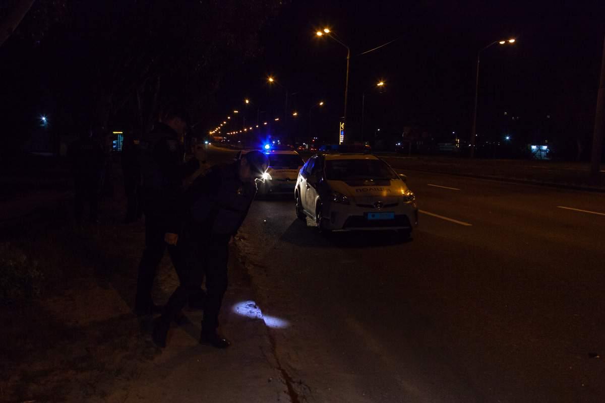В Днепре водитель совершил наезд на пешехода и скрылся с места ДТП (фото)