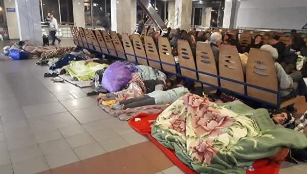 В Киеве ромы снова разбили палаточный городок