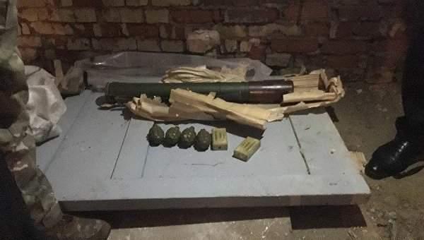 В Сумской области СБУ обнаружила  арсенал оружия из зоны ООС
