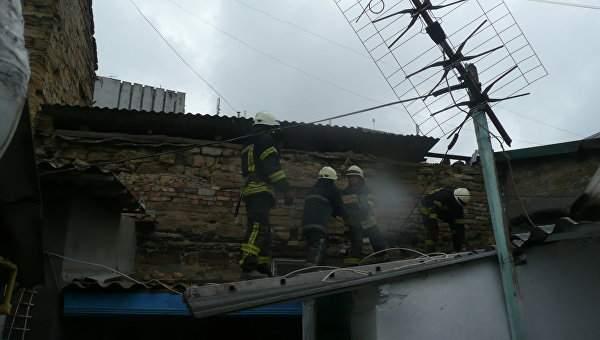 В Одессе в жилом одноэтажном доме прогремел взрыв