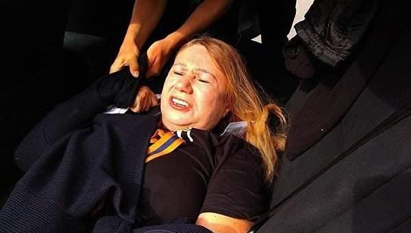 В Киеве полиция задержала мать погибшей экс-депутата от