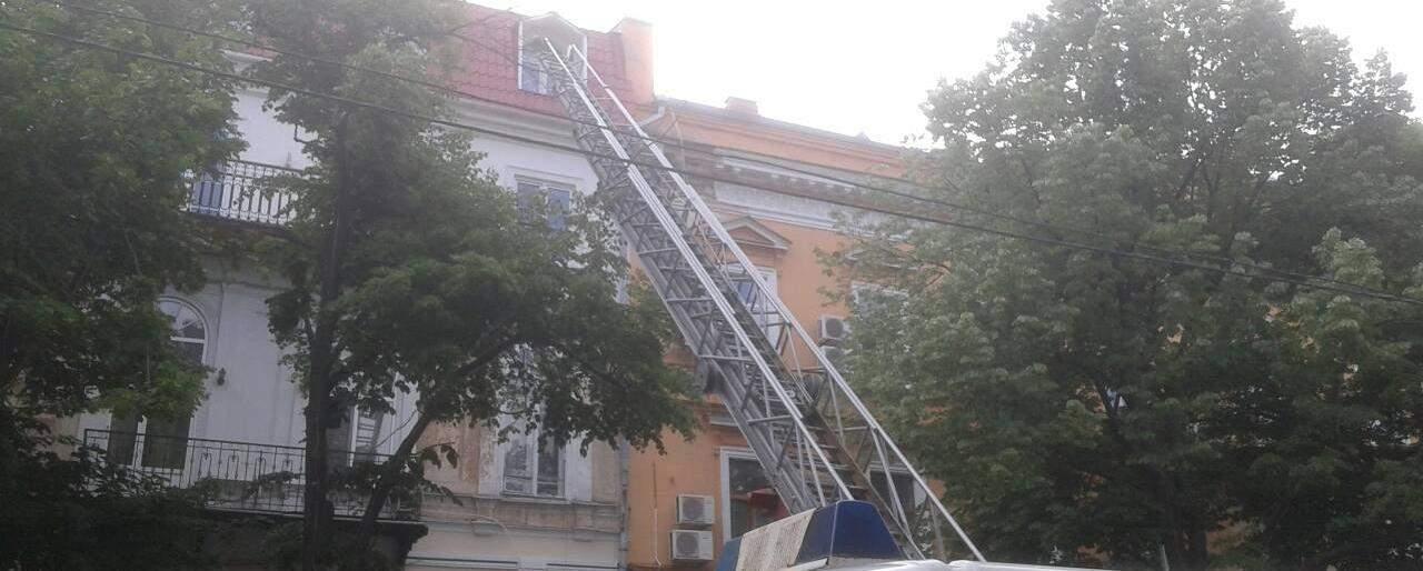 В центре Одессы в ресторане произошел серьезный пожар (фото)