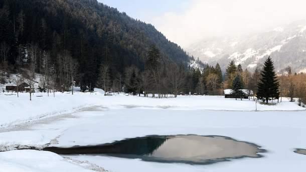 Во французских Альпах обнаружили тело пропавшего туриста
