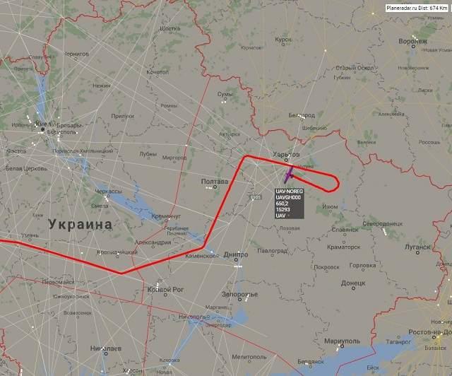 Беспилотники ВВС США совершили полет вблизи границы Украины с Россией (фото)