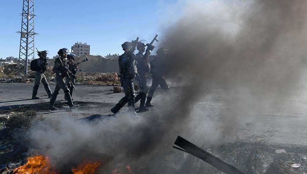 Число погибших в результате  столкновений палестинцев с силовиками на границе Израиля возросло до 59 человек