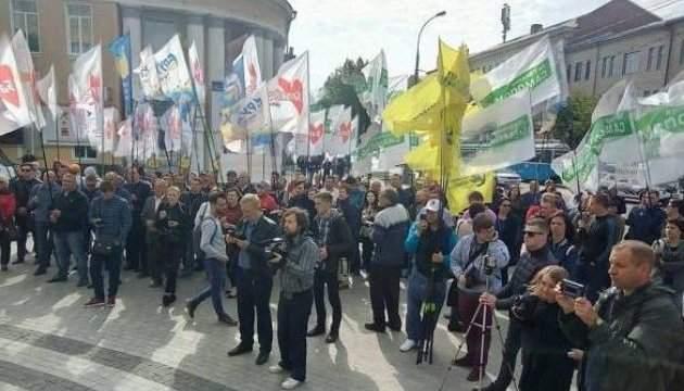 В Виннице жители требуют принятия Избирательного кодекса