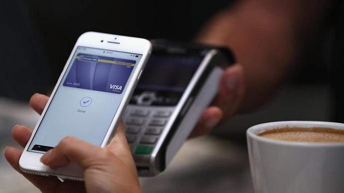 На территории Украины запустили мобильную платежную систему Apple Pay