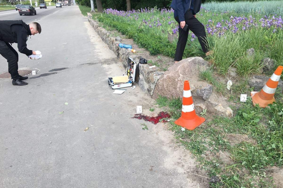 В Киеве вблизи Гидропарка произошла стрельба: есть раненные (фото)