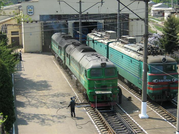 Во Львове железнодорожники к присоединилось