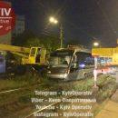 В столице новый трамвай в очередной раз сходит с рельс в одном и том же месте (видео)