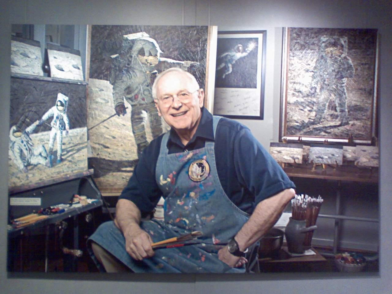 В США скончался астронавт побывавший четвертым по счету человеком на Луне