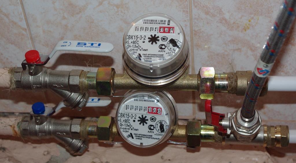 В Украине определили сроки установки счетчиков на тепло, воду и газ