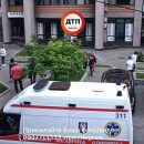 В столице Украины в подвальном помещении аптеки произошло возгорание, есть пострадавший (фото)