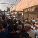 Полиция Киева объявила троим  участникам столкновений на рынке подозрения в совершении группового хулиганства