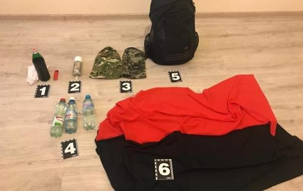 На Закарпатье задержаны националисты из Киева с коктейлями