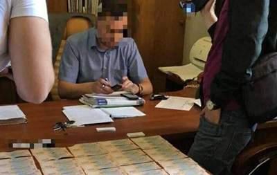 СБУ разоблачила чиновника