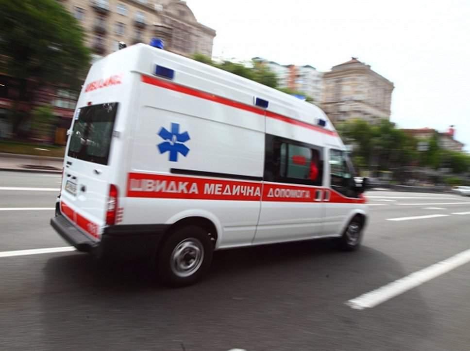 В Харькове мужчина сорвался с высоты