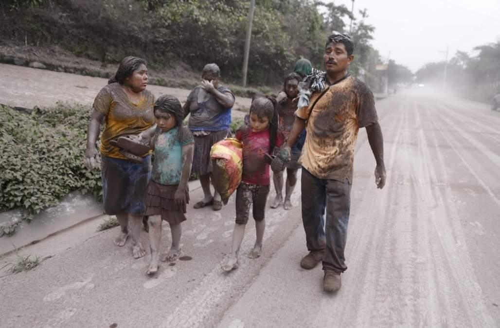 Извержение вулкана в Гватемале: более 20 погибших