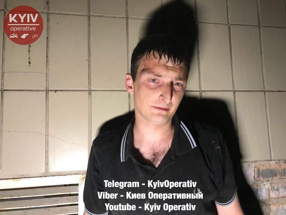 В столице двое мужчин проникли в агро-комбинат «Пуща-Водица» (видео)