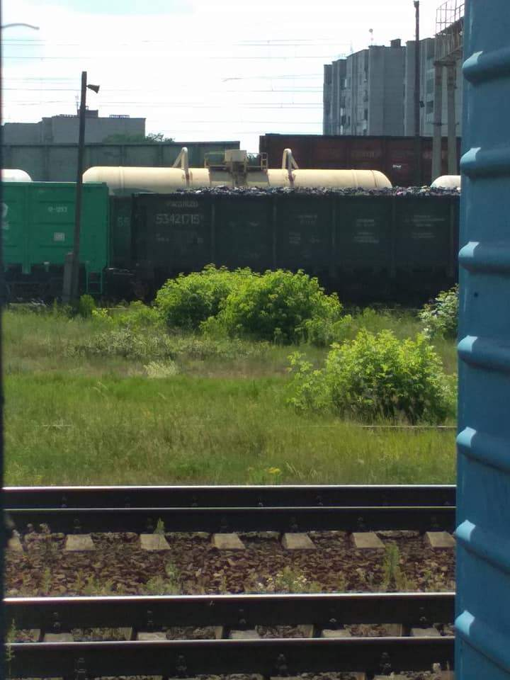 В Волынской области заметили более 50 вагонов с России (видео)