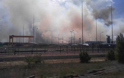 К тушению пожара в Чернобыльской зоне привлечены 29 единиц техники