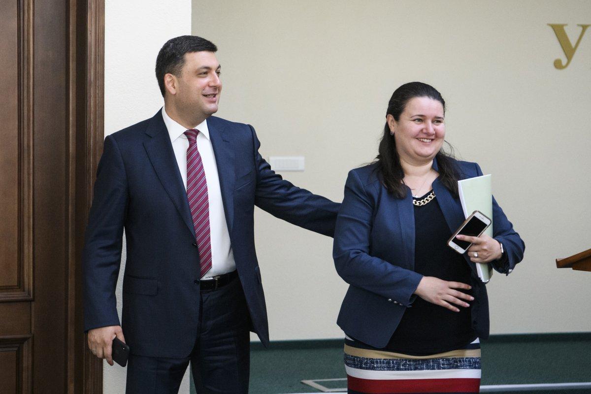 Минфин возглавила Оксана Маркарова
