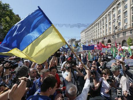 27,1% украинцев считают, что ситуация в стране требует кардинальных,