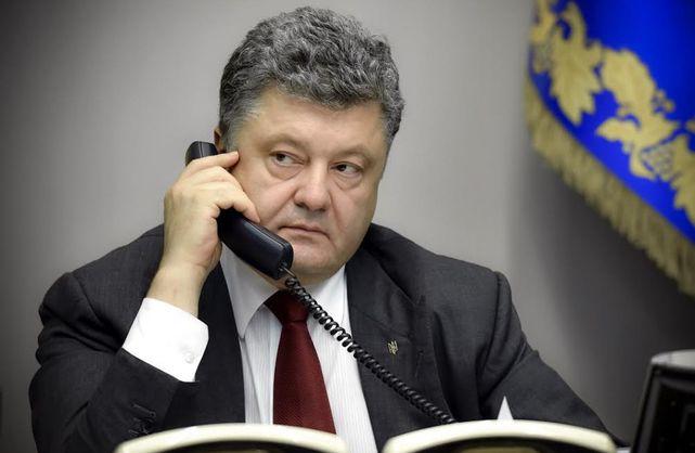 Порошенко провел разговор с Путиным по поводу освобождения украинских политических заключенных
