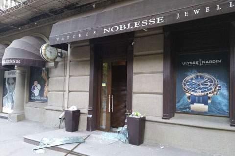 В Харькове ограбили элитный магазин часов и ювелирных украшений