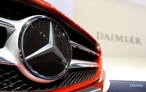 Концерн Daimler отзывает 238 тысяч автомобилей в Германии