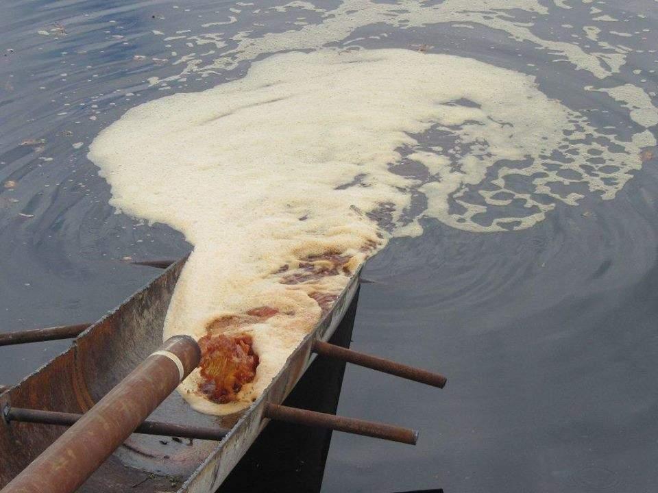 В Торецке зафиксировано разрушение дамбы, где хранятся около 270 тонн химических отходов
