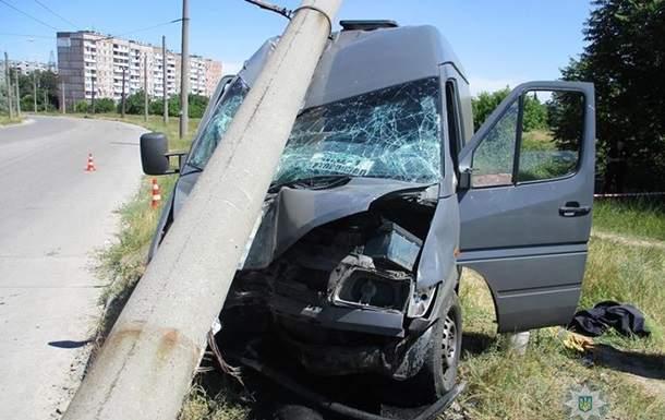 В Запорожье за два дня произошло два смертельных ДТП с участием маршруток
